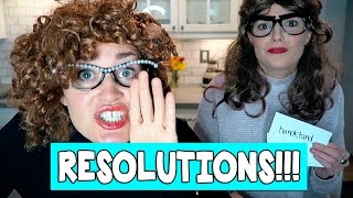OUR NEW YEARS RESOLUTIONS // Grace Helbig