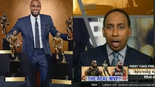 First Take| Stephen A Smith Reacts To Kyrie Irving