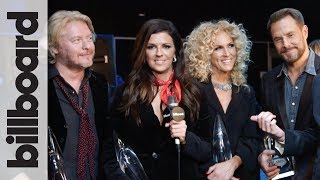 Little Big Town Chats Taylor Swift After Winning Song of the Year at 2017 CMA Awards | Billboard