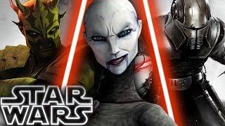 Top 6 Dark Jedi