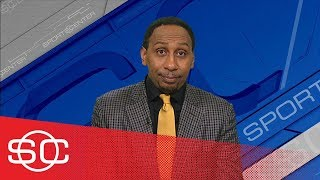 Stephen A. Smith suspicious about Warriors