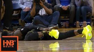 Dennis Schroder Ankle Injury / GSW vs Hawks