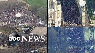 Thousands rally for Women