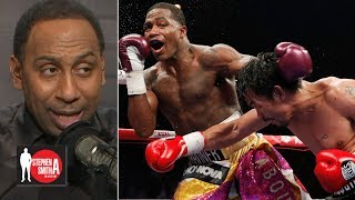 Stephen A. calls out Adrien Broner for saying he beat Manny Pacquiao    Stephen A. Smith Show