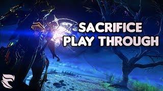 Warframe: The Sacrifice Live First Playthrough!