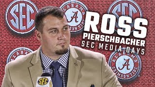 Hear what Ross Pierschbacher had at say during SEC Media Days 2018