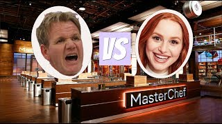 Am I a better chef than Gordon Ramsay? Ft. Gordon Ramsay | Madelaine Petsch