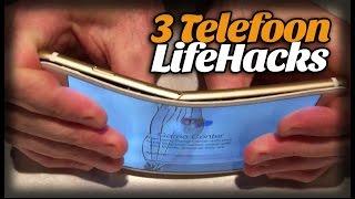 3 Lifehacks voor je telefoon