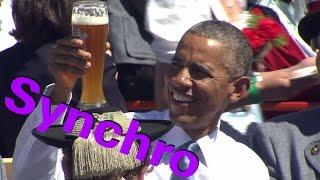 Obama in Bayern - YOU FM Synchro mit Coldmirror