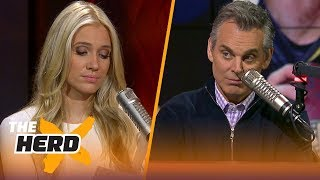 Colin fires back at his harshest Twitter critics | THE HERD