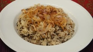 Lebanese Lentil Rice