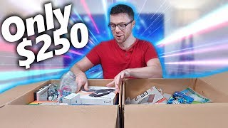 I Paid $250 for $1,932 Worth of MYSTERY TECH! Amazon Returns Pallet Unboxing!