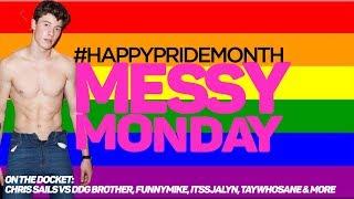 DRAMA ALERT ! ! SHAWN MENDES #PrideMonth, DanielleCohn, FunnyMike & MORE  MessyMonday