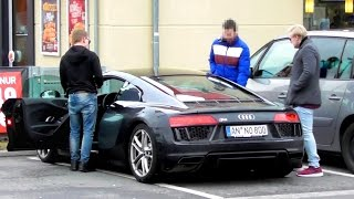 EPIC GOLD DIGGER PRANK - AUDI R8 2016 Rich Kid