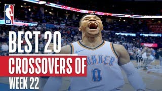 Best 20 Crossovers and Handles From Week 22 of the NBA Season (Westbrook, Harden, LeBron and More!)