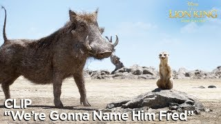 """""""We're Gonna Name Him Fred"""" Clip   The Lion King"""