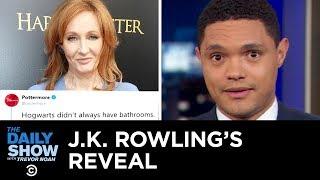 A Paul Manafort Bombshell, Tiffany's Feel-Good Diamonds & J.K. Rowling's Reveal | The Daily Show
