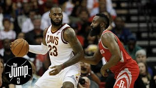 LeBron James or James Harden: Who has your vote for NBA MVP right now? | The Jump | ESPN