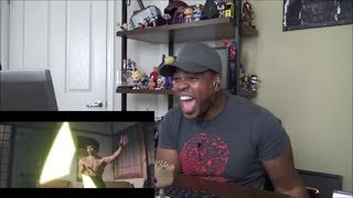 Bruce Lee Lightsabers Scene Recreation - REACTION!!!