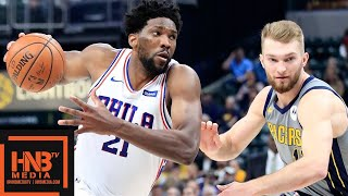 Philadelphia Sixers vs Indiana Pacers Full Game Highlights | 01/17/2019 NBA Season
