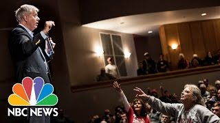Senator Lindsey Graham Faces Angry Constituents About Neil Gorsuch, GOP Health Care Bill | NBC News