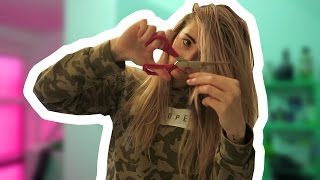 Haare selber schneiden [Daily Vlog]