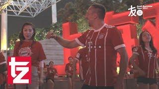 Der FC Bayern in Asien - Die Highlights vom zweiten Tag