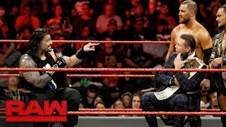 The Miz grills Roman Reigns about his victory over John Cena: Raw, Sept. 25, 2017