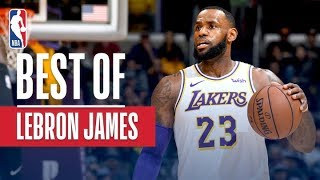 Best of LeBron James So Far This Season