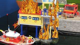 FEUERWEHRMANN SAM deutsch neue Folgen: Ocean Rescue Center Brand | Feuerwehrmann Sam neue Episode