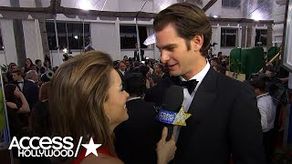 Golden Globes: Andrew Garfield On Trick-Or-Treating With Vince Vaughn & Mel Gibson