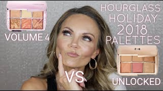 HOURGLASS AMBIENT LIGHTING EDIT 4 VS UNLOCKED PALETTE