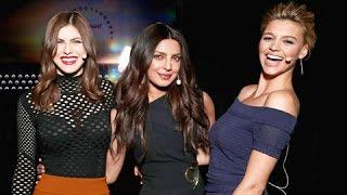 Priyanka Chopra Sings Britney Spears Track Oops I Did Again | Baywatch Promotions In Las Vegas