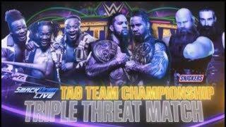 WWE Wrestlemania 34 Official Full Match Card HD