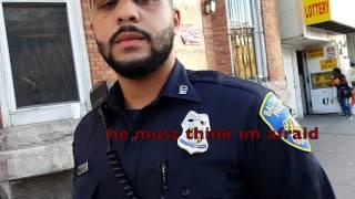 Officer Pretty Boi wants to Fight Joe Citizen Hoe