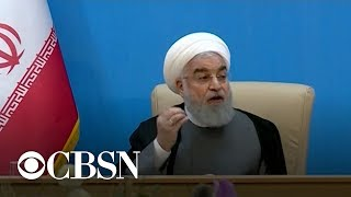 """Iran says new sanctions permanently """"end"""" chance for diplomacy"""