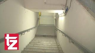 Diese Treppe führt an einen geheimen Ort in der Münchner Innenstadt