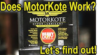 Can MotorKote survive the water test?  Let