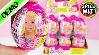 18 BARBIE Überraschungseier mit Süßigkeiten und Überraschung | Unboxing von 3 Üeiern | Spiel mit mir