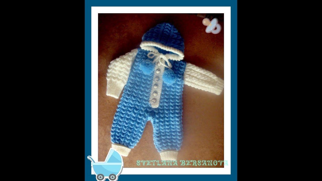 Видеоуроки вязание для младенцев
