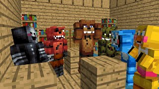 FNAF Monster School: Season 1 - Minecraft Animation (Five Nights At Freddy