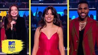 Presenters Moments & Nominees | MTV EMAs 2018