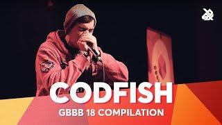 CODFISH | Grand Beatbox Battle Champion 2018 Compilation