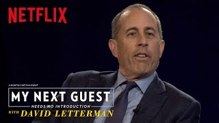 David Letterman and Jerry Seinfeld Talk Baseball | My Next Guest Needs No Introduction | Netflix