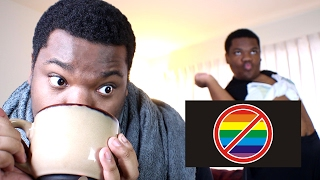 REACTING TO ANTI-GAY COMMERCIALS BECAUSE I