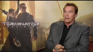 Arnold Schwarzenegger Says Terminator Genisys Didn't Need James Cameron's Endorsement