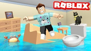 ESCAPE THE FLOOD OBBY IN ROBLOX