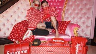 LOUIS VUITTON X SUPREME HAUL | Jeffree Star