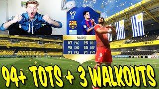 94+ TOTS + 3x WALKOUT! ⛔️🔥 MEIN BESTER LA LIGA TOTS! - FIFA 17 PACK OPENING ULTIMATE TEAM (DEUTSCH)
