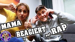 MAMA REAGIERT AUF HEFTIGE RAP SONGS | KOLLEGAH & FARID BANG | FAMILY FUN